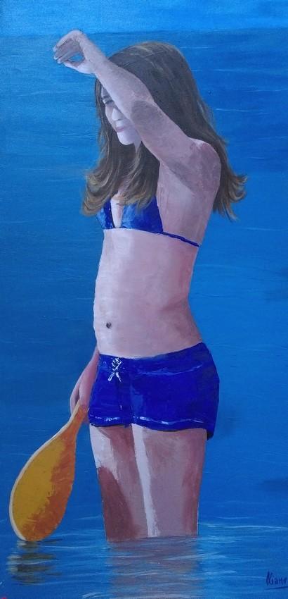 Jeux de plage Acrylique 100x050